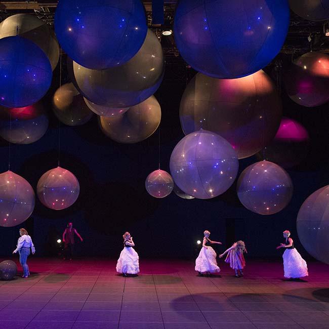Touwen voor theater: Salzburg festival