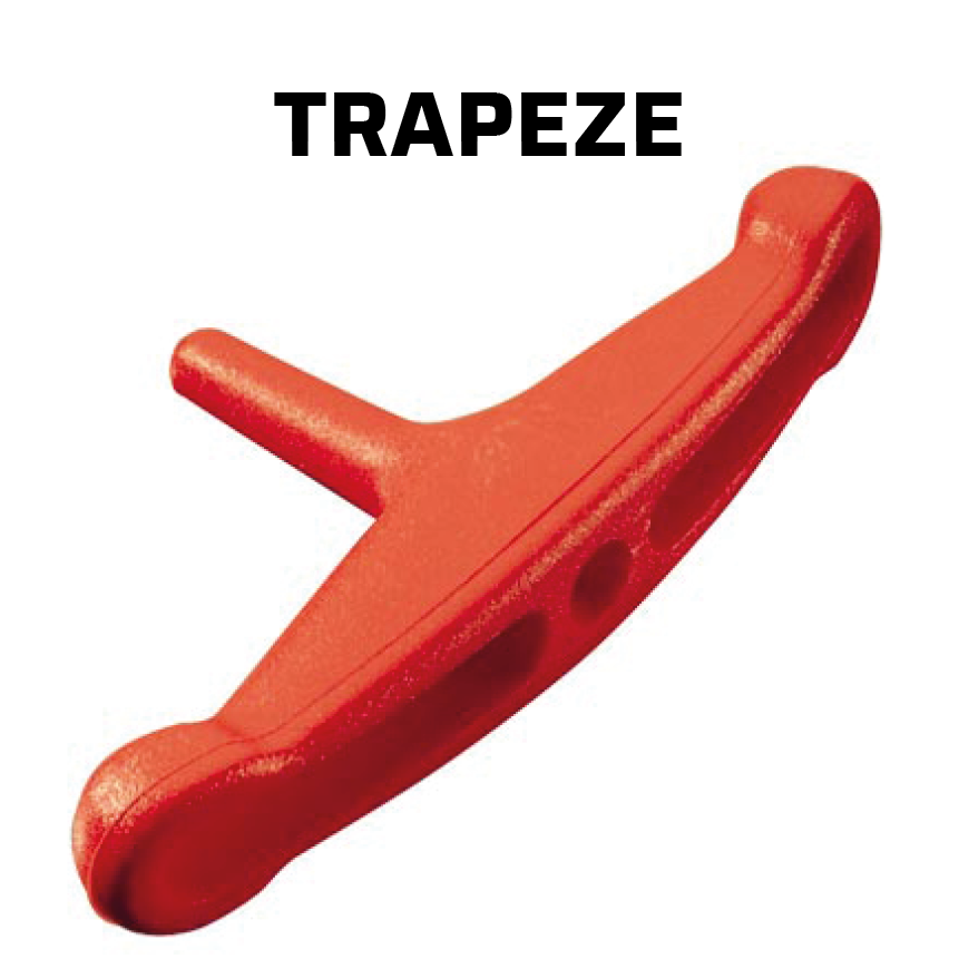 Ronstan trapeze hardware