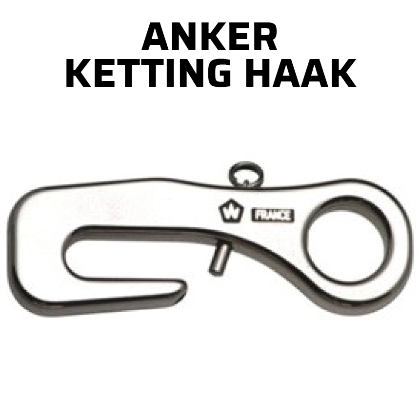 Wichard ankerketting haak