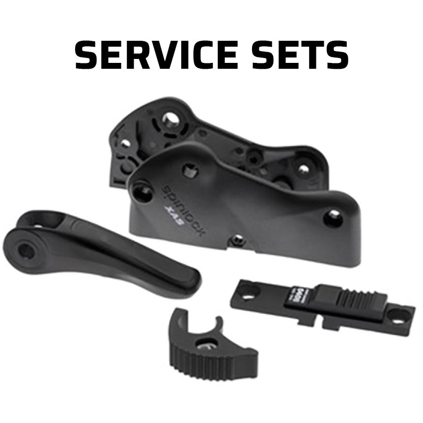 Spinlock onderhoudssets en onderdelen voor stoppers