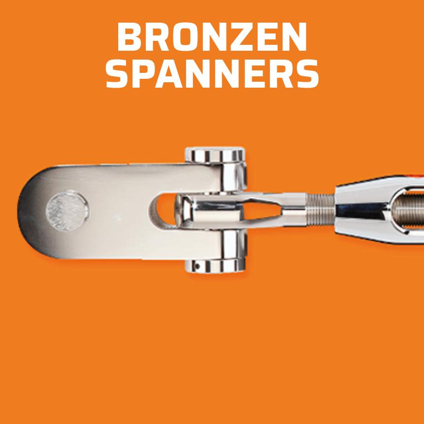 Sta-Lok bronzen spanners