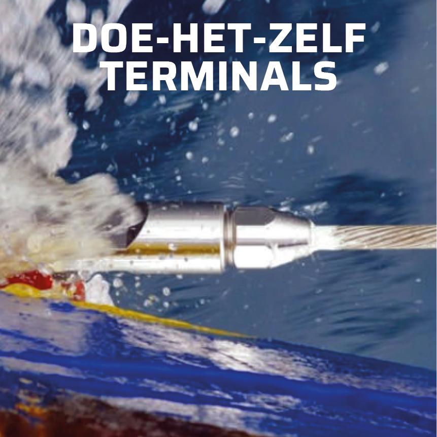 Sta-Lok doe-het-zelf terminals