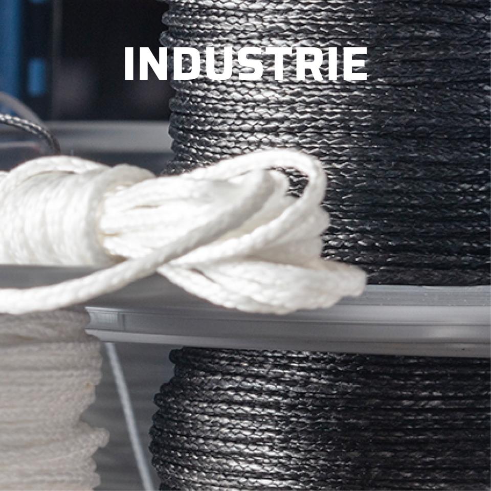 Stirotex lijnen: synthetische touwen voor industrieel gebruik
