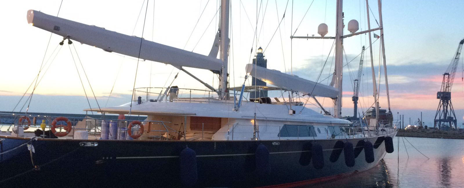 Superjacht tuigen: project Perrini Navi