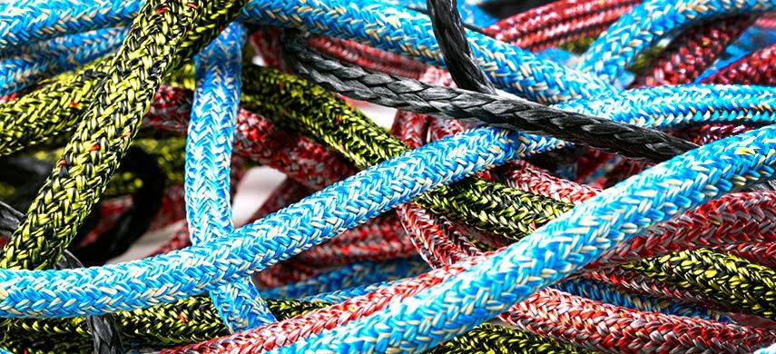 Touwwerk - dyneema - stirotex - polyester